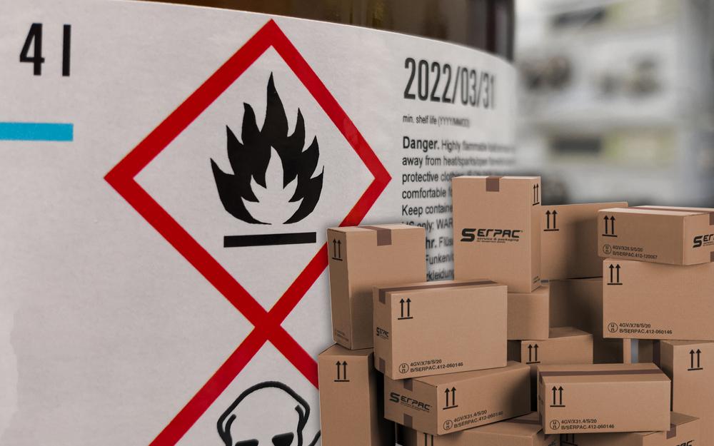 Scatole 4GV merci pericolose